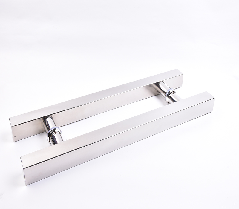 Puxador H Quadrado Inox